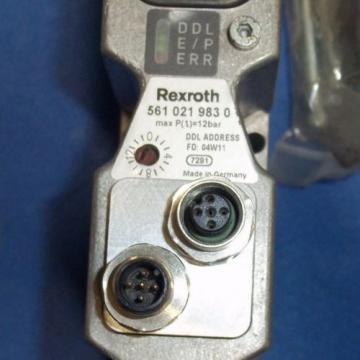 REXROTH 12 BAR PNEUMATIC CONTROL VALVE, 561-021-983-0