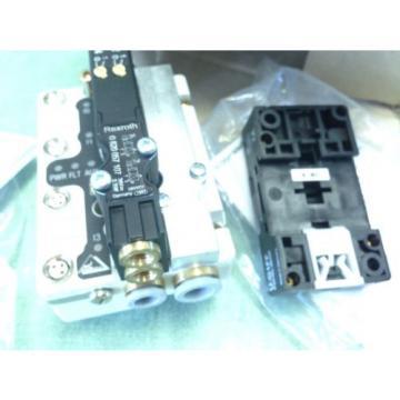 BOSCH/REXROTH R480 084 902 PNEUMATIC VALVE 0 820 057 107 SYSTEM CA44 24VDC BA
