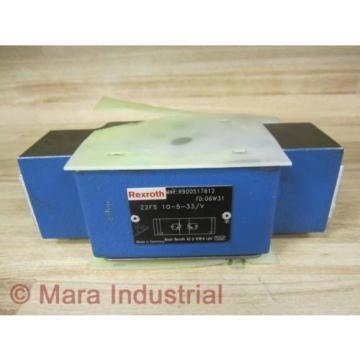 Rexroth Bosch R900517812 Check Valve Z2FS 10-5-33/V - origin No Box