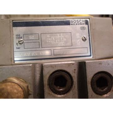 Bosch 0 820 024 128 Rexroth Valve Assembly 1B24210 221 FREE SHIPPING