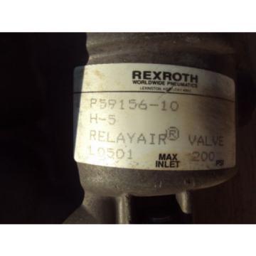 Rexroth Relayair Valve P-59156-10