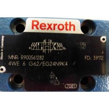 Rexroth China France 4WE 6 G62/EG24N9K4 4WE6G62/EG24N9K4 R900561282 Valve -used-