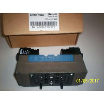 origin REXROTH GS-020032-02626 PNEUMATIC BOSCH CERAM VALVE