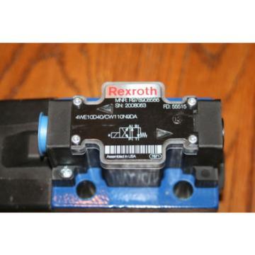 Rexroth Bosch Group MNR R978908566 Solenoid Valve 4WE10DA40/CW110N9DA  Origin