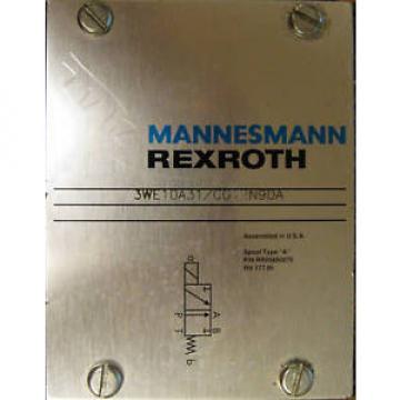 Mannesmann Japan USA Rexroth Hydraulic Valve 3WE10A31/CG12N9DA