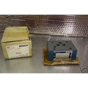 BOSCH 0811000026 HYDRAULIC VALVE PMAX 4500 PSI  Origin