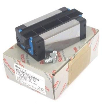 NIB REXROTH R162229310 LINEAR RUNNER BLOCK BALL RAIL