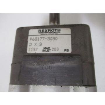 REXROTH India Korea P68177-3030 PNEUMATIC CYLINDER *NEW NO BOX*