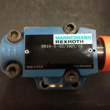 REXROTH China USA DR10-5-52/100Y/12 HYDRAULIC SERVO DIRECTIONAL VALVE PN# RR006808