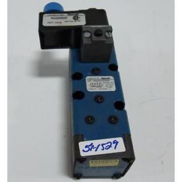 REXROTH 150PSI MAX SOLENOID VALVE R432006089 W/ R432009045 / 7877-10W48 Origin