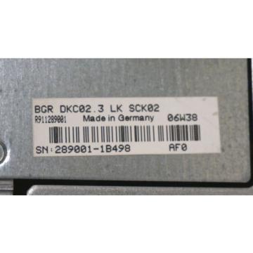 NEW Japan USA REXROTH INDRAMAT DKC02.3-040-7-FW SERVO DRIVE W/ BGR-DKC02.3-LK-SCK02