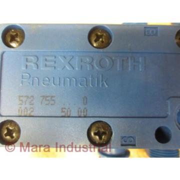 Rexroth Korea Egypt 752 755...000 Pneumatic Valve - New No Box