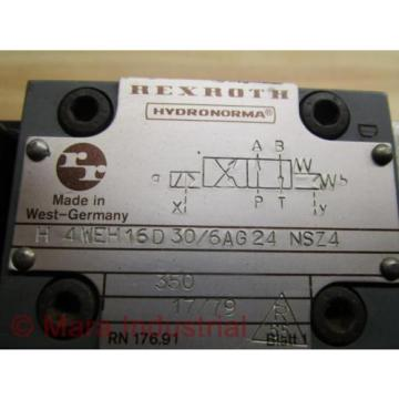 Rexroth H 4 WEH 16D 30/6AG24 NSZ4 Directional Control Valve - Used