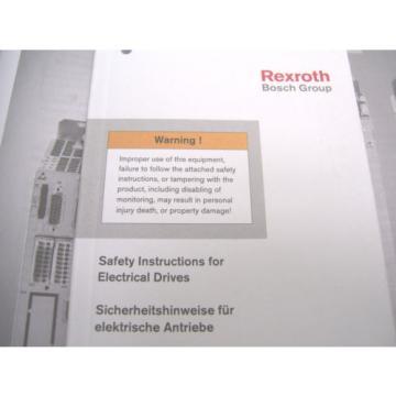 *NEW* Germany India REXROTH INDRAMAT  SERVO DRIVE  HCS02.1E-W0012-A-03-NNNN   60 Day Warranty!