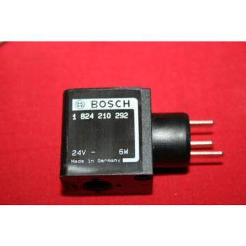 Origin Bosch Rexroth Solenoid Valve Coil 24VDC - 1 824 210 292 - 1824210292 - BNWOB