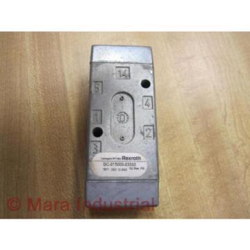 Rexroth India India GC-015000-03333 Directional Valve GC01500003333 - New No Box