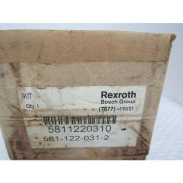 REXROTH SOLENOID VALVE 581-122-031-2