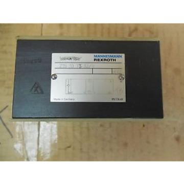 Rexroth/Mannesmann Hydraulic Manifold Block Valve Z1S 10 T3-32/V Z1S10T332V origin
