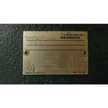 MANNESMANN REXROTH HYDRAULIC VALVE ZDB 10 VP2-41/200V PT020