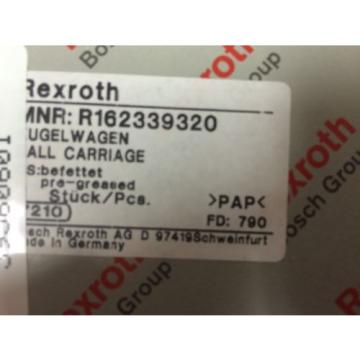 origin Rexroth Runner Block Linear Bearing - R162339320