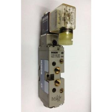 BOSCH  0820022029 5/2-way-1/8 in Pneumatic Valve 24 V DC