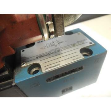 REXROTH SOLENOID VALVE 4WE6D60/EW110N9Z45 L/V RR00880057