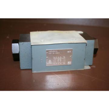 Pilot Russia Singapore check valve Hydraulic Sandwich Z2S10-1-30/V Rexroth Unused