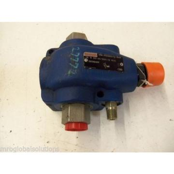 REXROTH DB 15 G2-44/350V/12 W65 VALVE RELIEVE PILOT OPERATED R900388022 USED