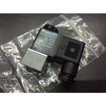 REXROTH 5420309220 Pneumatic Solenoid Valve  1824V DC 3451W