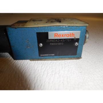 Rexrtoh ZDR6DA2-43/75Y Hydraulic Pressure Reducing Valve