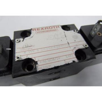 REXROTH 4 WE 6 D51/OFAG24NZ4 E48 24V DC 26W HYDRONORMA VALVE