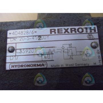REXROTH  DR20541/200Y  VALVE USED