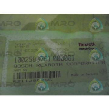 REXROTH Egypt Australia FWA-EC00R3-SMT-02VRS-MS DRIVE *NEW IN BOX*