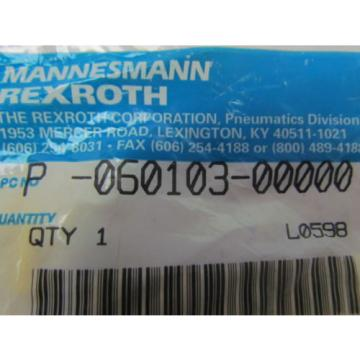 Mannesmann Rexroth P-060103-00000 Hopper dump valve operator repair kit