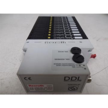 USED Greece Singapore Rexroth R480229333 DDL LP04 Series Valve Terminal System Module 0820062101