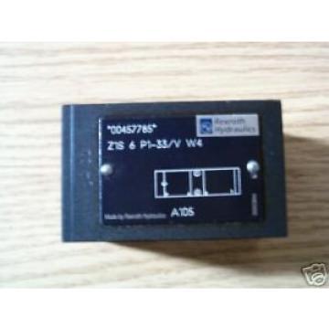 Rexroth Hydraulic Sandwich Check Valve, Z1S 6 P1-33/V W