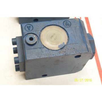 Origin REXROTH HYDRAULIC CONTROL VALVE SV 20 GA 1-42