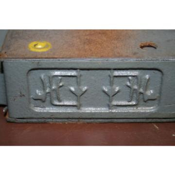 Flow control valve Hydraulic Throttle/check Sandwich plate Z2FS10-21 Rexroth