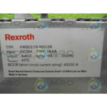 REXROTH France Korea HMS02.1N-W0028 SERVO MODULE *NEW NO BOX*
