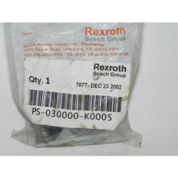 REXROTH PS-030000-K0005 CD-7 DIRECTIONAL VALVE KNOB KIT Origin PS030000K0005