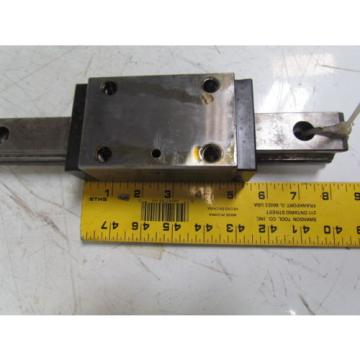 Rexroth Bosch STAR 35 Linear Guide Bearings W/1020mm Rail Hyundai Lathe HIT15S