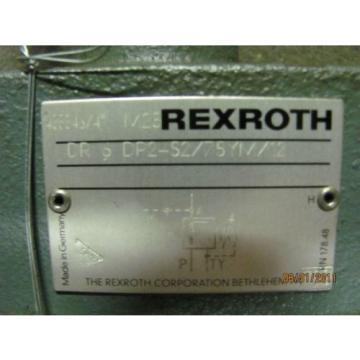Rexroth DR 6 DP2-52/75YM/12 Pressure Reducing Valve Origin