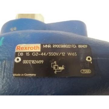 REXROTH DB 15 G2-44/350V/12 W65 VALVE RELIEVE PILOT OPERATED Origin NO BOX