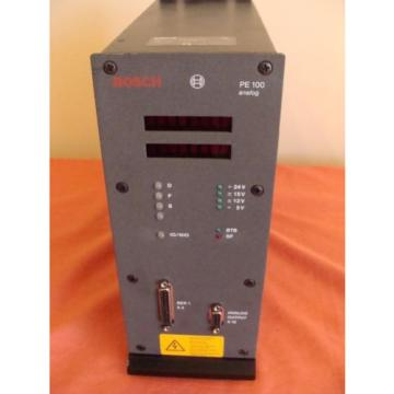 NEW Russia Russia OLD STOCK BOSCH REXROTH PE100 ANALOG CONTROLLER 0 608 830 093 50/60Hz