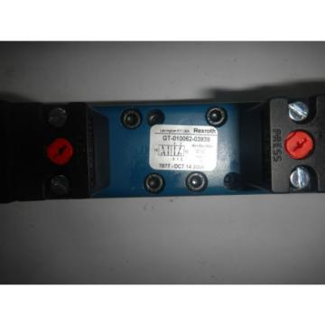 Rexroth Germany Italy GT010062-03939 Pneumatic Valve