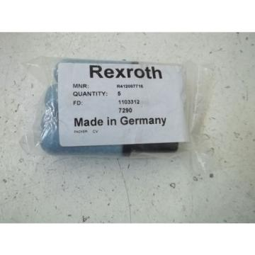 LOT India USA OF 5 REXROTH R412007716 SILENCER *NEW IN A BAG*