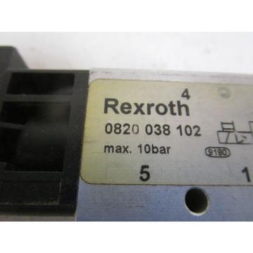 REXROTH USA France VALVE 0820 038 102 *USED*