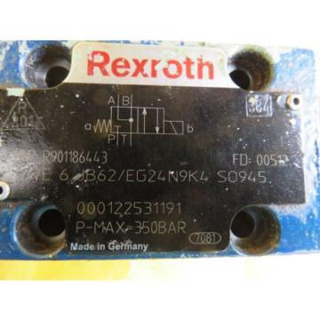 NEW Russia France BOSCH REXROTH R901186443 4WE 6 JB62/EG24N9K4 VALVE 000122531191
