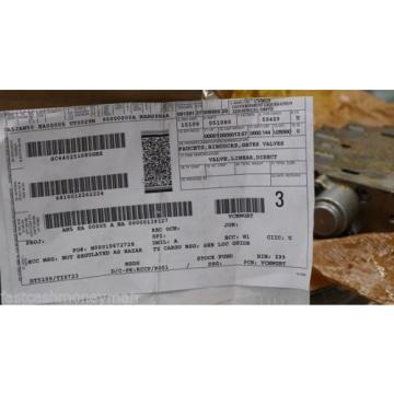 OSHKOSH MILITARY TRUCK HYDRAULIC VALVE 16-02-552-248 2CX109 4810-01-226-2224