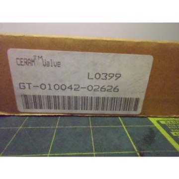 REXROTH Canada Korea GT010042-0626 CERAMIC PNEUMATIC PROPORTIONAL DIRECTIONAL VALVE # J54763